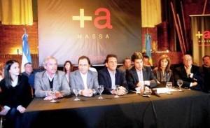 Massa y compañía firmaron un acta en contra de la re-re