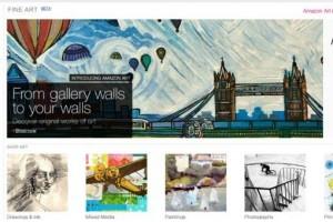 Amazon lanzó una tienda de arte en internet