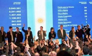 CFK no admitió la derrota y dijo que conserva la mayoría