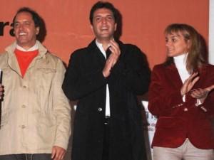 Malena, Scioli, Massa y un cruce de alto voltaje