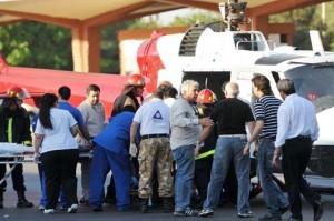 Gioja fue operado y está grave tras el accidente aéreo
