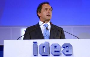 Daniel Scioli inaugura el Coloquio de IDEA en Mar del Plata