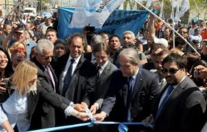 Scioli destacó la integración Nación-Provincia