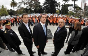 Scioli lanzó el plan de seguridad para La Plata