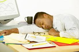 La falta de descanso puede causar innumerables tragedias