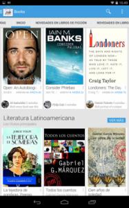 Google lanzó su tienda de libros electrónicos en Latinoamérica