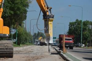 Avanzan obras viales para acceder al Puerto La Plata