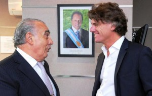 """Camaño, de presidente de la Nación a """"arquitecto"""" de Scioli"""