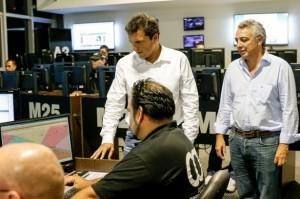 """Massa lanzó un """"cerrojo digital"""" contra la inseguridad"""