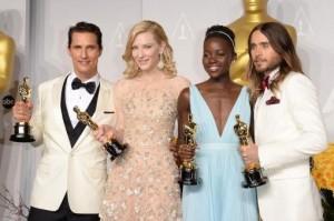 """""""12 años de esclavitud"""" y """"Gravity"""", las protagonistas de los Oscar"""