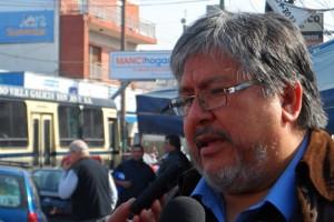 """El """"Chino"""" Navarro niega una alianza del Movimiento Evita con Vidal"""