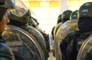 El radicalismo quiere que saquen a los gendarmes del Conurbano