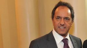 """Scioli confía en """"un buen desenlace"""" para el conflicto con los holdouts"""