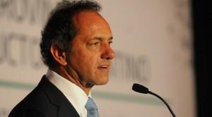 """Scioli, ante las críticas: """"Estoy para ponerme al frente de esta lucha"""""""