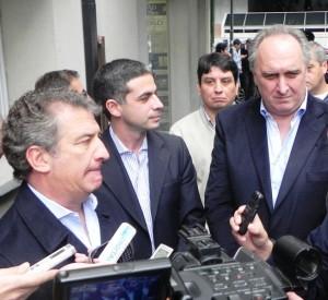Urribarri se reunió con el presidente del Concejo platense