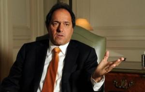 Scioli cree que la Provincia debe modificar su estructura impositiva