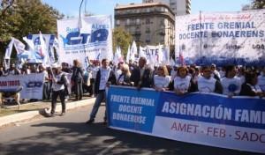 El Frente Gremial Docente confirmó paro para después de las vacaciones