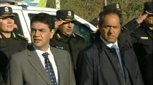 Tras la advertencia a intendentes, Scioli visitó Vicente López