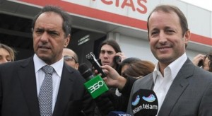 Ante rumores de pase, Scioli le abre nuevamente la puerta a Insaurralde