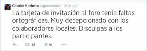 """Mariotto, espantado por """"Hirigoyen"""", salió eyectado"""