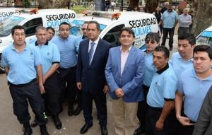 """Scioli lanzó la Policía Local en Quilmes y la calificó como """"la mayor inversión de la historia"""""""