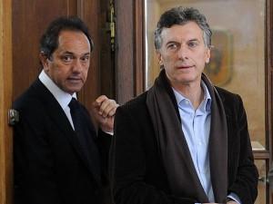 """Scioli chicaneó a Macri: """"Me encantan las bicisendas, pero yo hago rutas"""""""