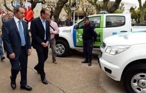 Scioli firmó junto a Arrieta la adhesión a la Policía Local para Cañuelas