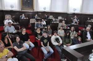 Jornada de homenajes en el Concejo Deliberante