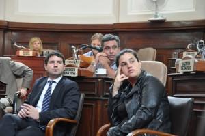 El Concejo homenajeó a Antonio Cafiero
