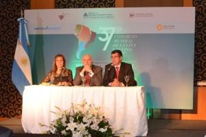 Se presentó en Buenos Aires el Congreso Mundial de la Viña y el Vino