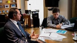 Scioli no descarta la posibilidad de compartir fórmula con Kicillof
