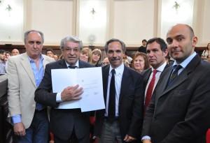 El Concejo homenajeó a Nazareno Fanelli y lo declaró Ciudadano Ilustre