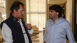 """Para Bossio, Scioli lleva una """"muy buena"""" gestión en la Provincia"""