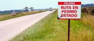 Pedido de informes a Vialidad por el estado de la Ruta 88