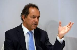 """Scioli, sobre el acuerdo del PRO y la UCR: """"Todos buscan unirse como sea contra nosotros"""""""