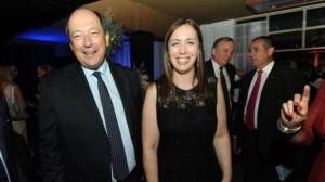 """Sanz: «Nuestra candidata a gobernadora en la Provincia es María Eugenia Vidal"""""""