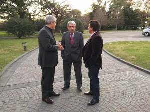 Aníbal, Domínguez y Espinoza, los candidatos K para la Provincia