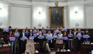 El Concejo declaró de interés municipal a la marcha #NiUnaMenos