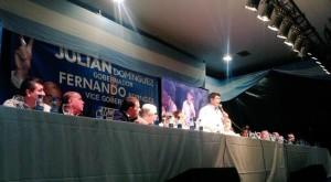 Bruera suma adhesiones y sale a apoyar a Julián Domínguez