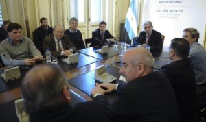 Aníbal, con intendentes de la Quinta, para mejorar los resultados de las PASO