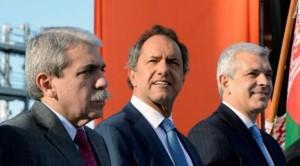Scioli, faltazo al cierre de Domínguez y apoyo a Aníbal