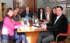 Analizan el avance de las obras hidráulicas en La Plata