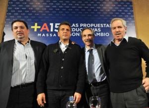 Massa llegó a La Plata para aquietar los ánimos de su tropa