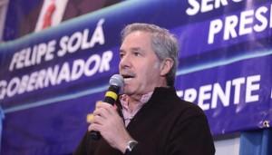 Solá juntó al massismo de la Tercera y cargó contra sus contrincantes