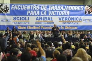 Acá no ha pasado nada: Aníbal y Espinoza juntos en campaña