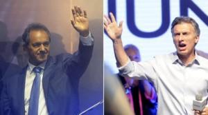 Scioli no pudo e irá al ballotage con Macri