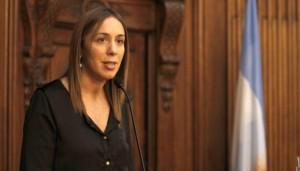 """Para Vidal, «Buenos Aires es la Provincia más discriminada"""""""