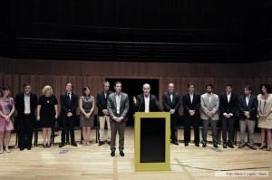 Rodríguez Larreta y Santilli presentaron al gabinete que los acompañará