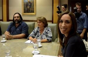 Vidal y Baradel se lanzaron críticas cruzadas por el paro