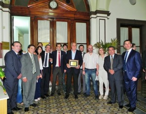 Borgini fue homenajeado en el Concejo Deliberante